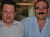 Con Rafael Reig en la entrega del premio literario Bubok