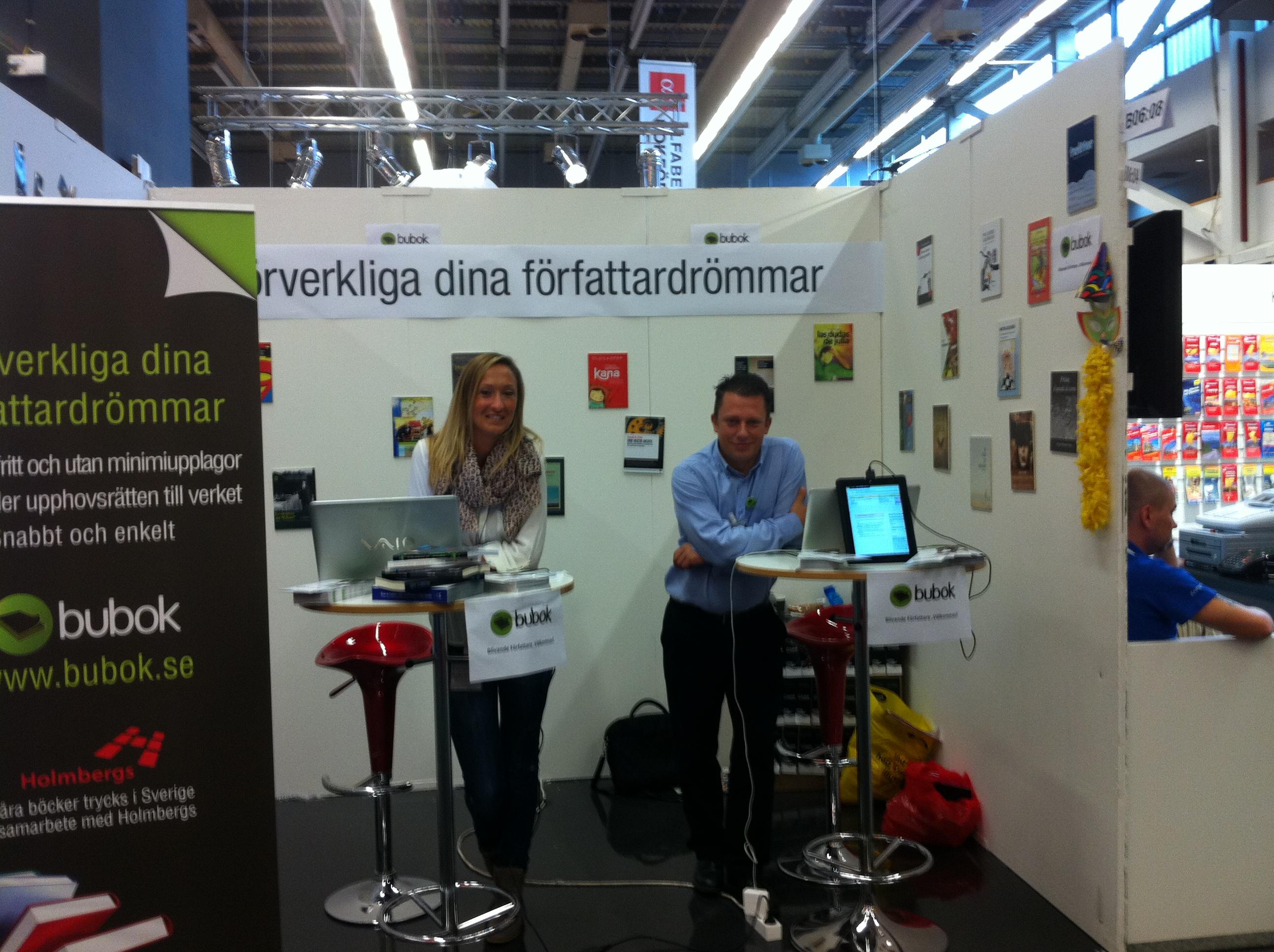 Bubok abre sus puertas al mercado sueco