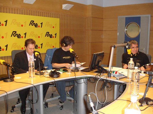 Entrevista en Radio Nacional de España