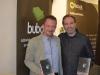 Con Felix Chacón, ganador de nuestro VIII certamen literario
